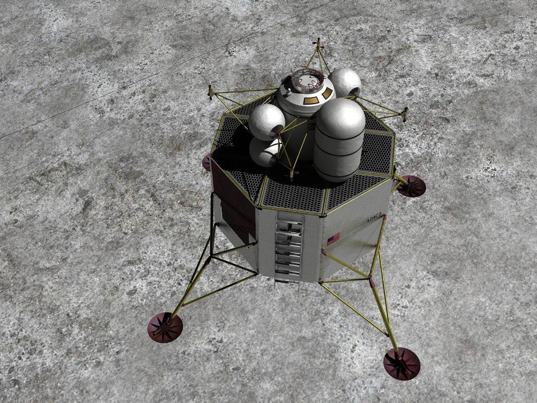 lunar surface access 3d lwo