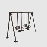 3d model swing child