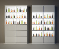 Wine cabinet bar
