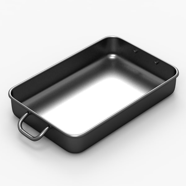 3d metal tray