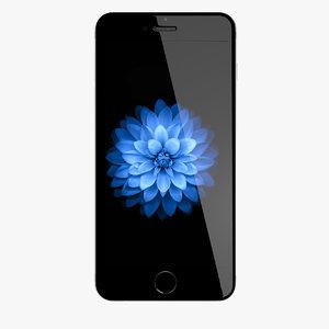 new iphone 6 space 3d c4d