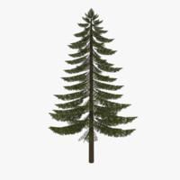 3ds max fir tree