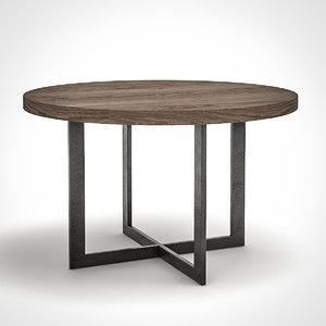 desiron park table 3d model