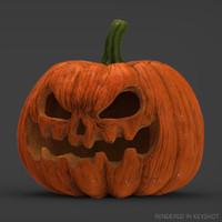 Realistic Halloween Pumpkin