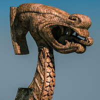 3ds max carved dragons head