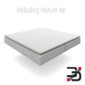3dsmax mattress