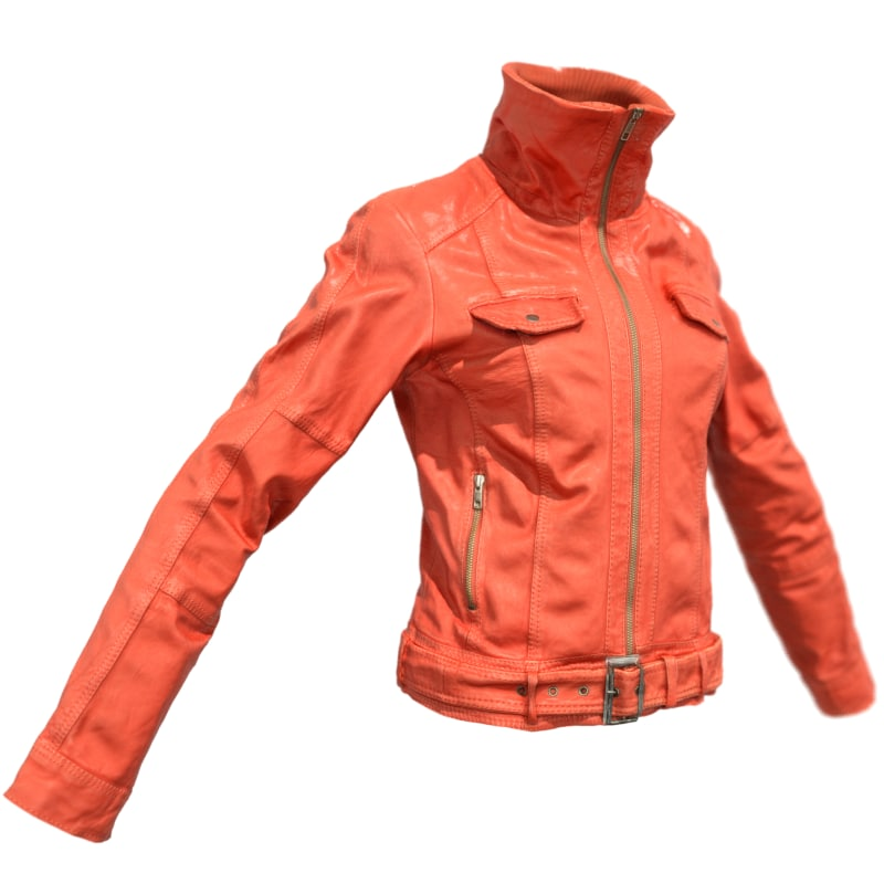 3d leather jacket s