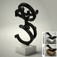 sculpture 29 3d 3ds