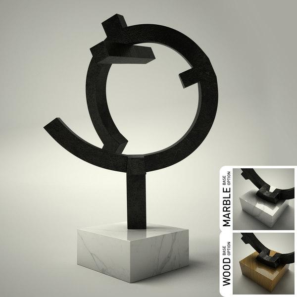 3d sculpture 30 model