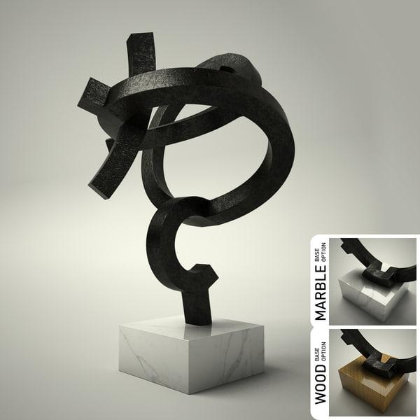 3d model of sculpture 31