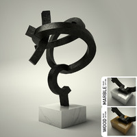 3d model of sculpture 31