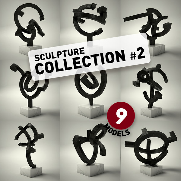 sculpture 2 3d dxf