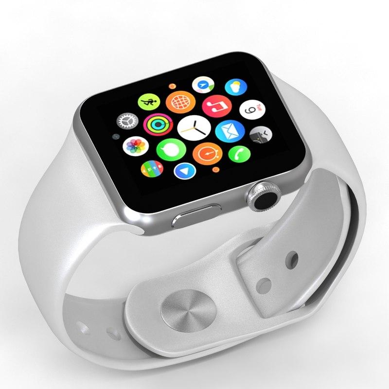 3d model apple watch