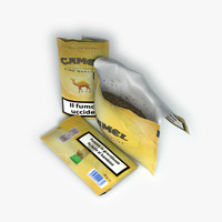 tobacco package 3d model