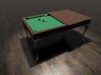 maya modern billiard table