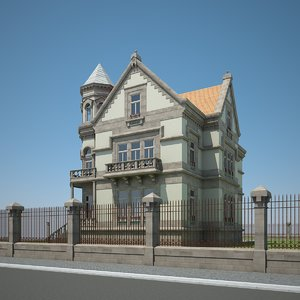 3ds max old manor