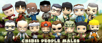 3DRT-Chibii people males