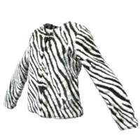 3d model zebra jacket
