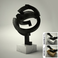 sculpture 35 3d 3ds