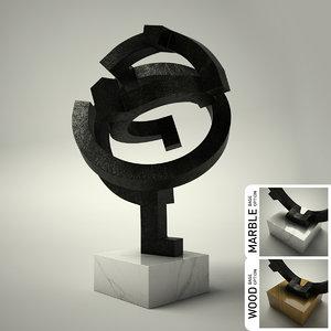 sculpture 35 3d 3ds