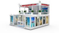3d model master tatil exhibition design