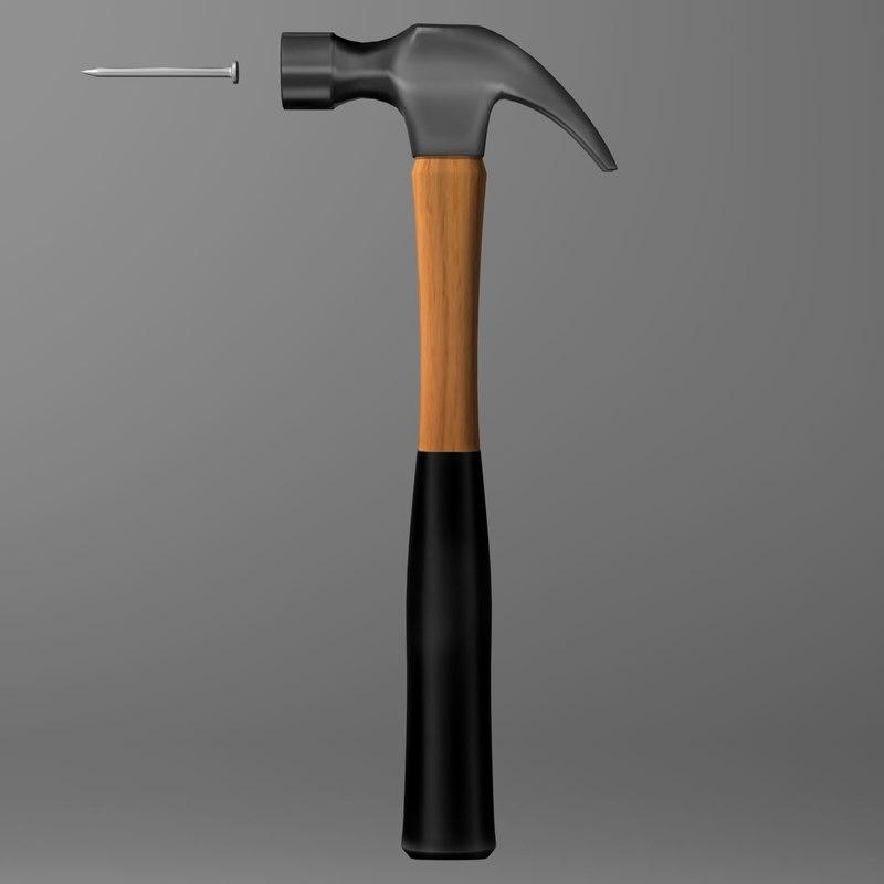 hammer nail 3ds