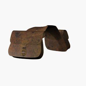 saddle bag 3d 3ds
