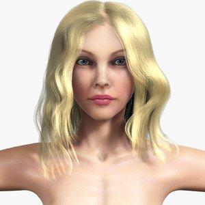 ma realistic anatomy hair