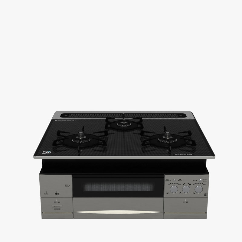 3d stove cook