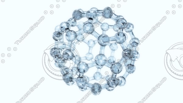 molecule structure 3d model