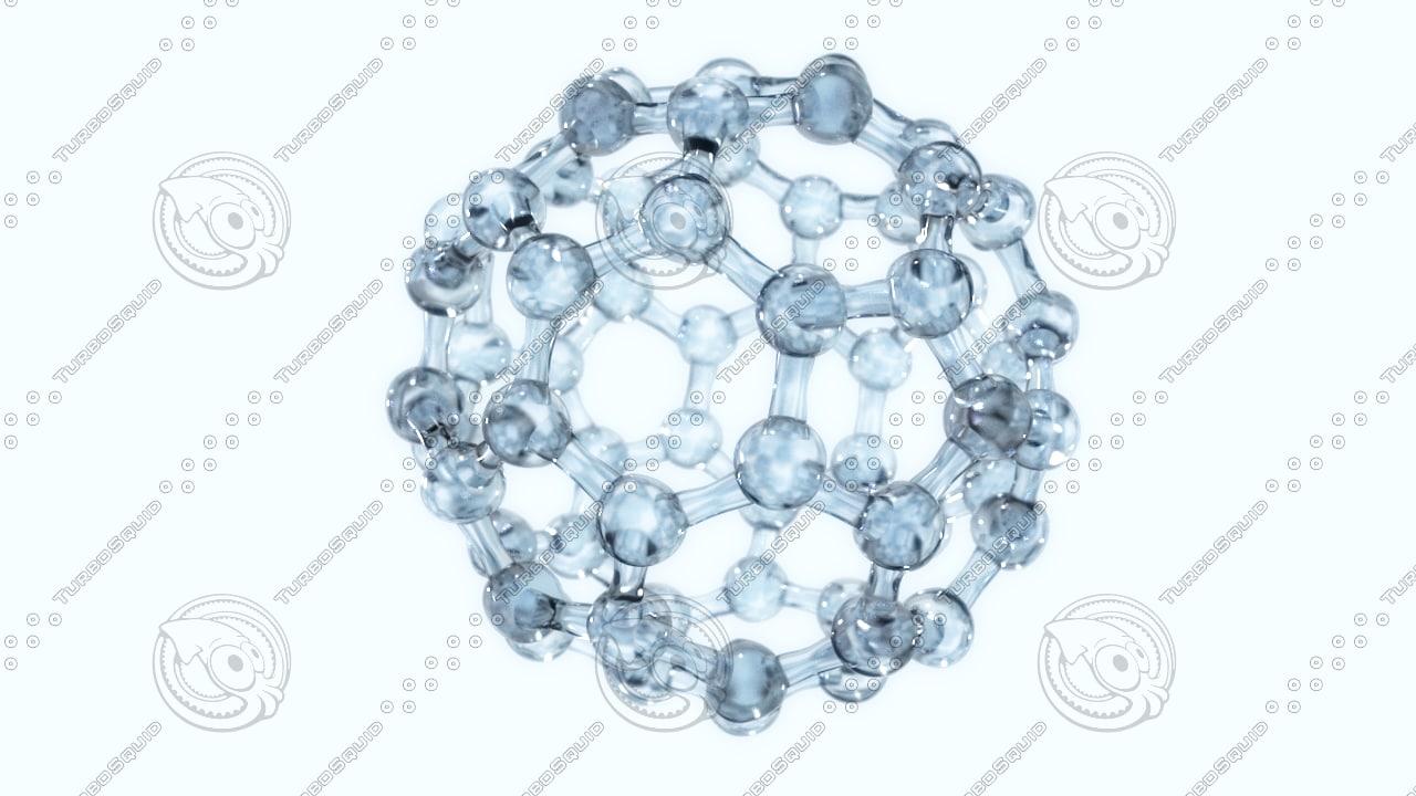 molecule structure 3d model
