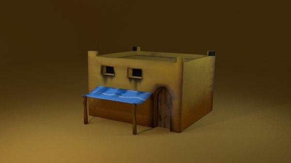 3d model arabian house