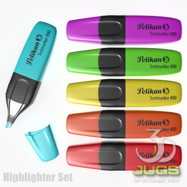 3d 3ds set highlighter