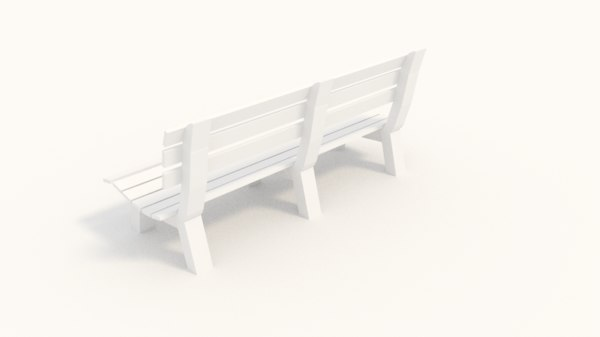 park bench 3ds free