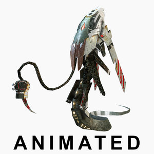 3d max monster animations