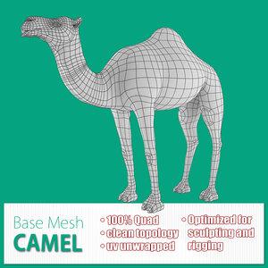base mesh camel max