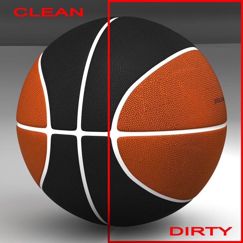 3d basket ball bicolor