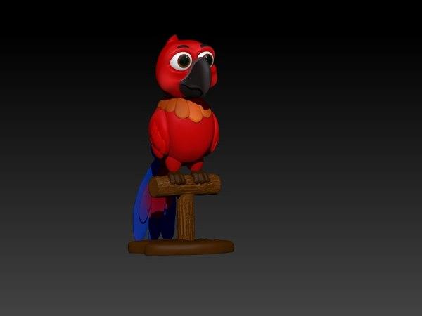 3d printable parrot