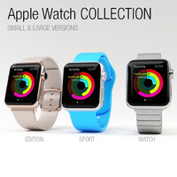 3d model apple watch -