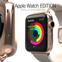 3d apple watch edition -