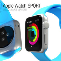 3d 3ds apple watch sport -