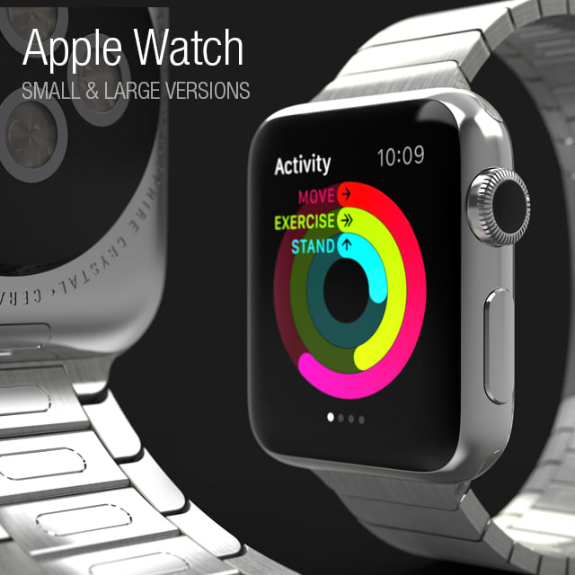3ds max apple watch -