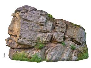 stone boulders scanned 3d model
