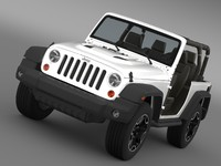 jeep wrangler rubicon 10th 3d 3ds