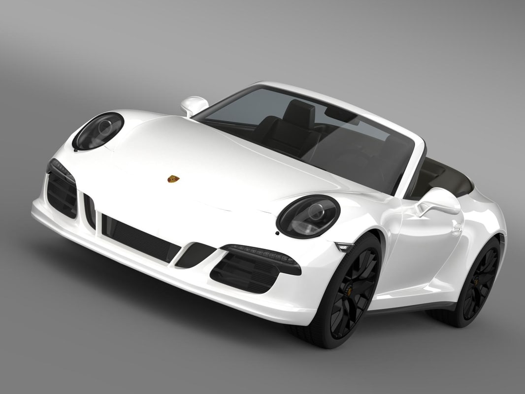 3dsmax porsche 911 carrera gts
