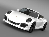 Porsche 911 Carrera GTS Cabriolet 991 2015