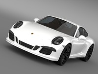 Porsche 911 Carrera GTS Coupe (991) 2015