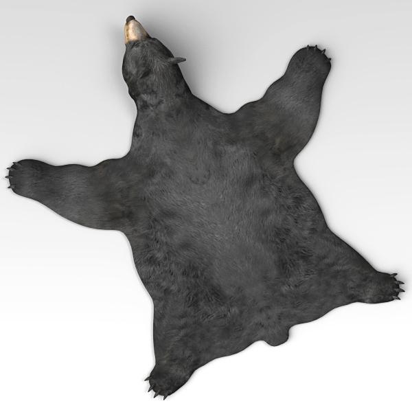 3ds max bear skin