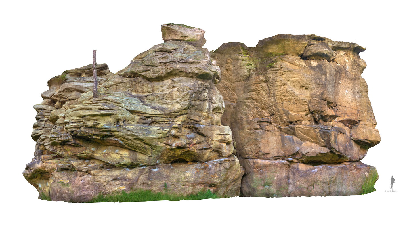 3d model rock