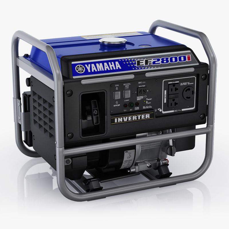 3d inverter yamaha ef2800i model